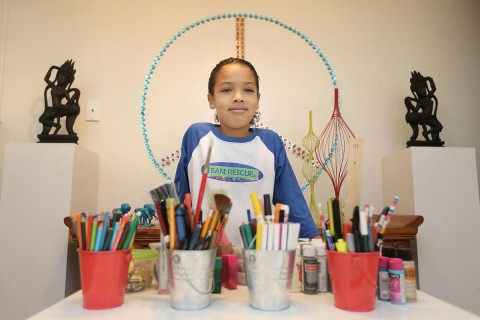 Sharing the Spirit: 8-year-old Zion Lee helping Napa's wildlife